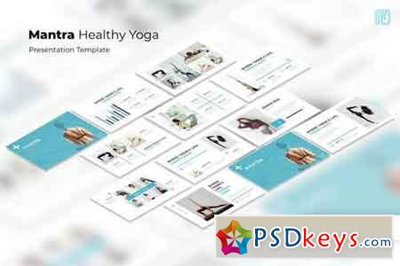 Mantra Yoga - Powerpoint, Keynote, Google Sliders Templates