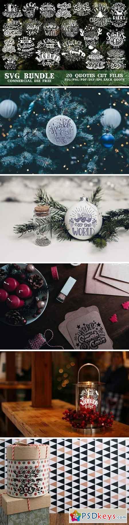 Christmas Svg Bundle 745553