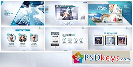Videohive BLUE - Corporate Video Package 16048452 After Effects Template