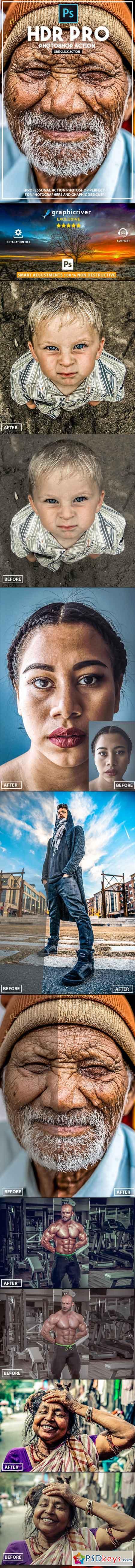 HDR PRO - Photoshop Action 22968156