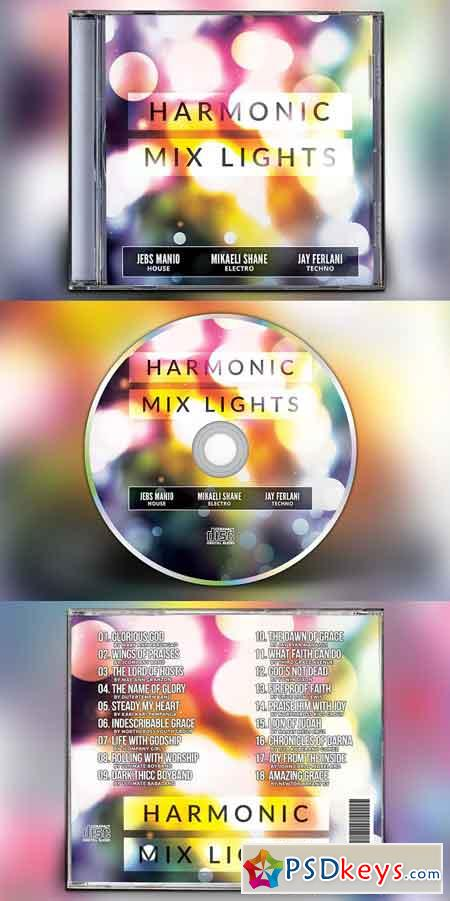Harmonic Mix Lights CD Album Artwork 3199340