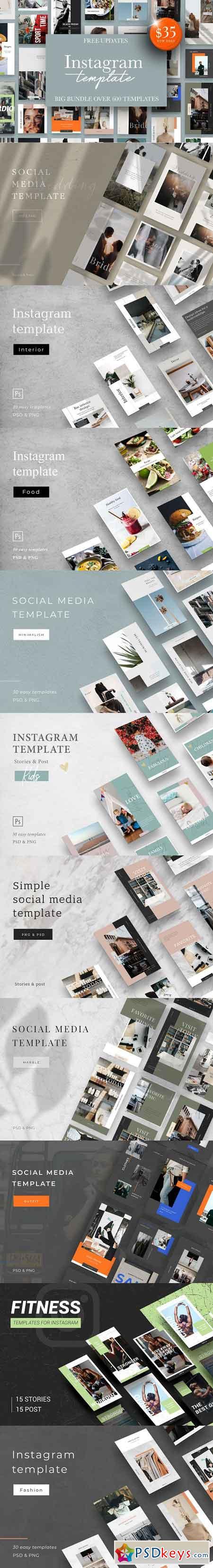 Instagram Bundle 25in1 + Free Update 3190185