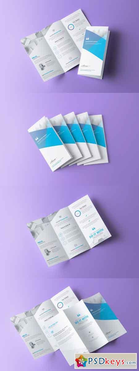 Corporate Trifold Brochure 3512879