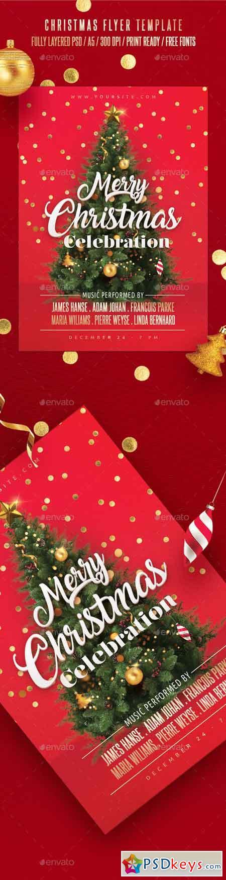 Christmas Flyer Template 22930718