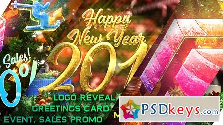 New Year Pack - Logo Reveal Sale and Event Promo 21121532 After Effects Template