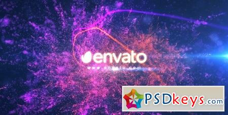 Colorful Particle Light Reveal 8757744 After Effects Template
