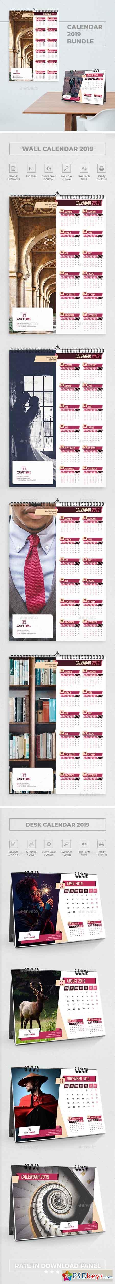 Calendar 2019 Bundle 6 22929965