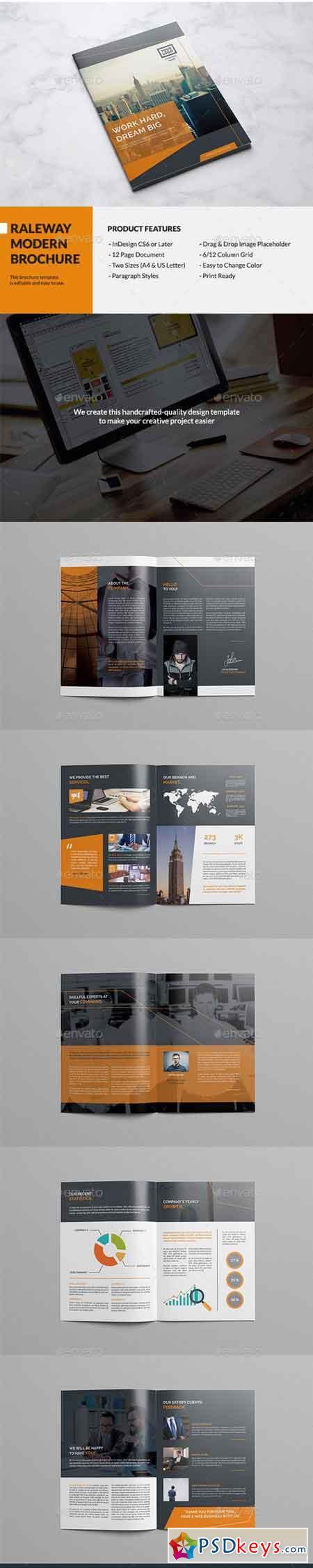Raleway Modern Brochure 13484057