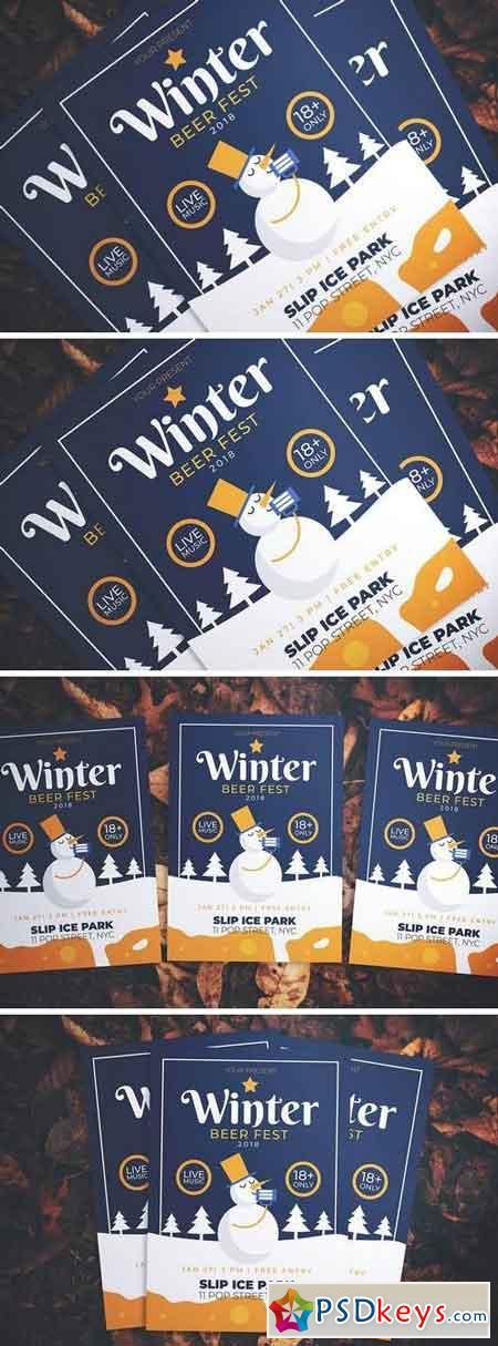 Winter Beer Fest Flyer 3261489