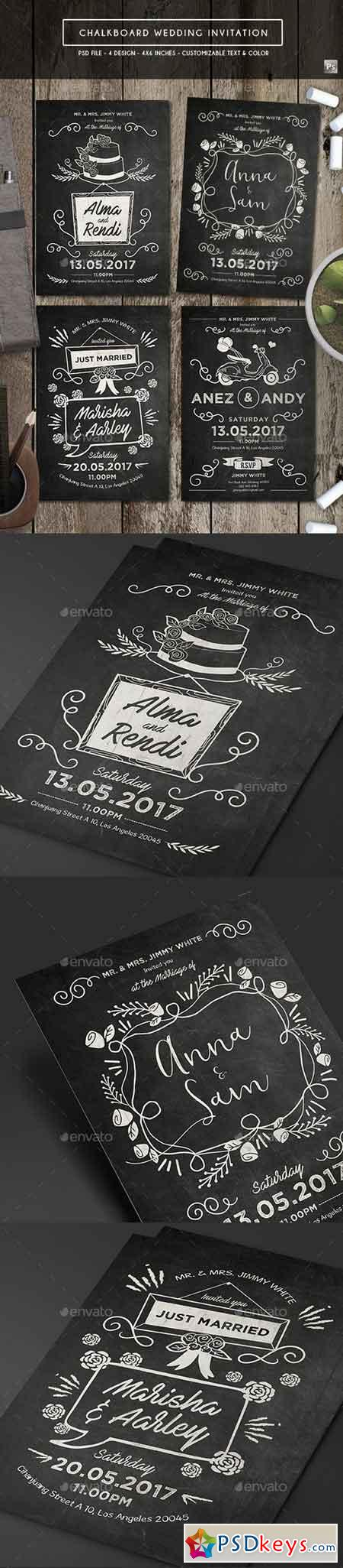Chalkboard Invitation 19289861