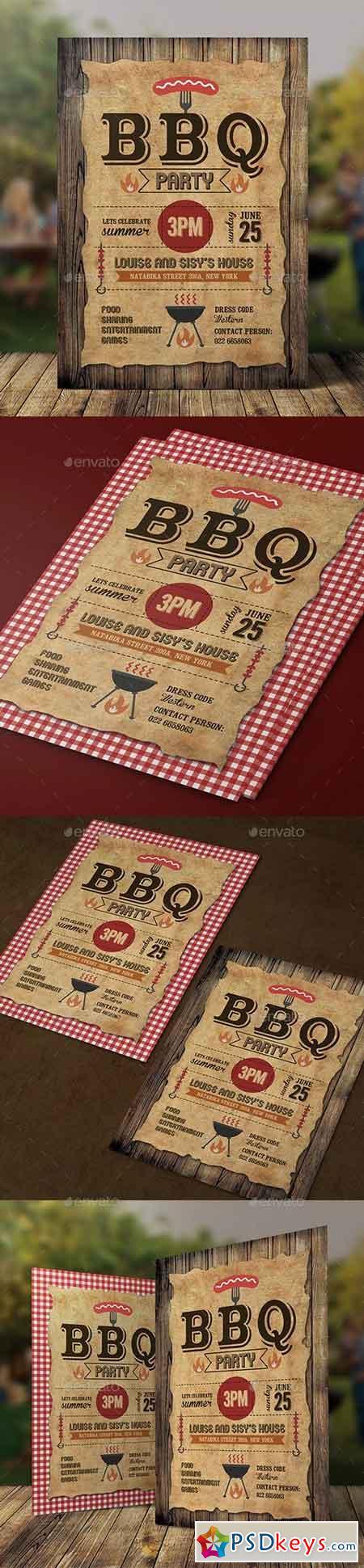 BBQ Invitation 18851274
