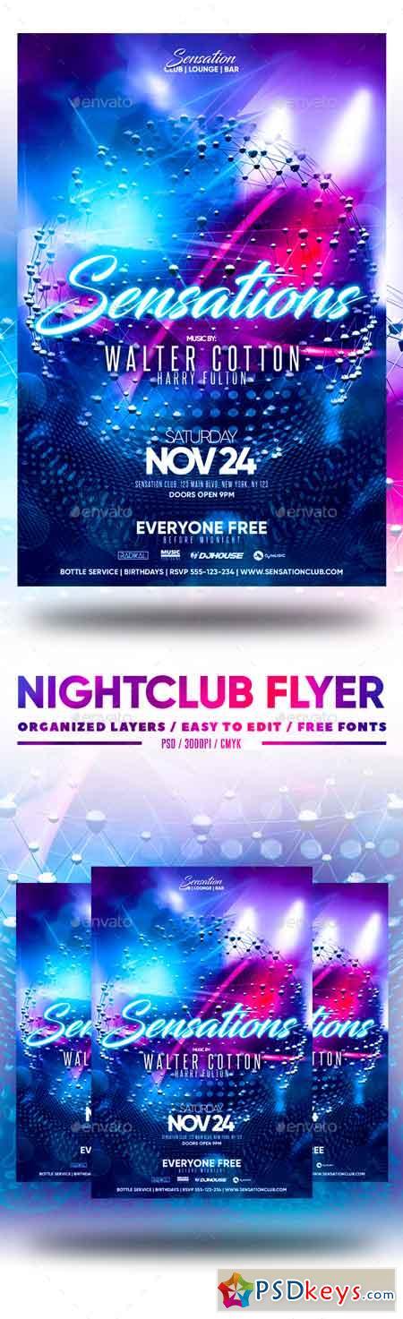 Nightclub Flyer 22876292