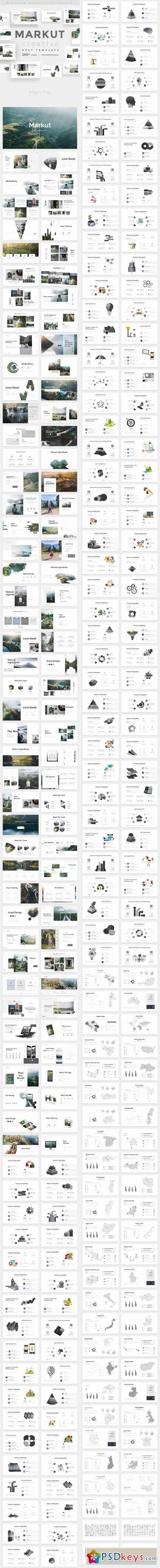 Markut Creative Powerpoint Template 22862131