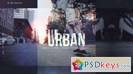 Videohive Urban Opener 22787989 After Effects Template