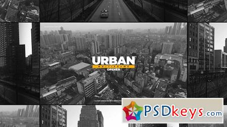 Motion Array - Urban Multiframe Opener After Effects Templates 149125