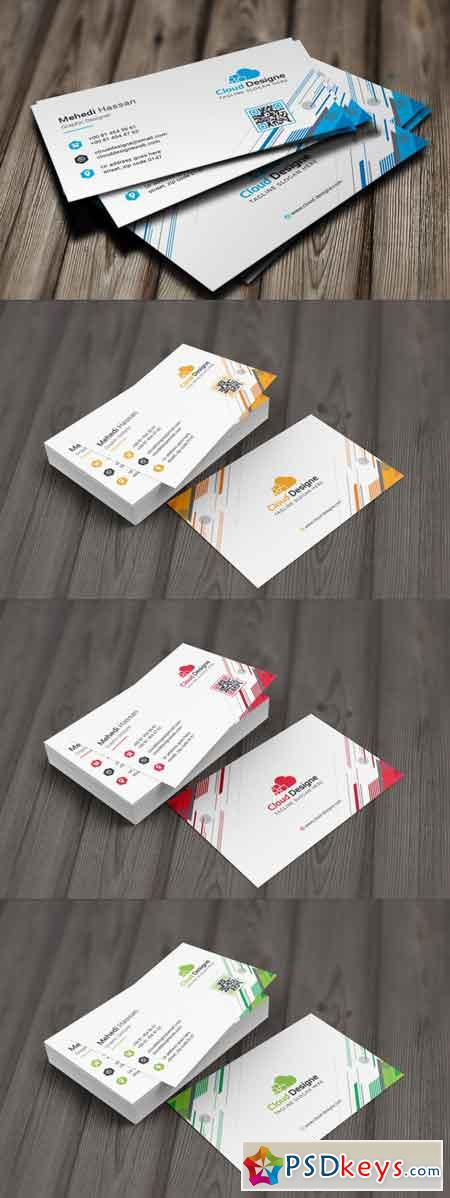 Corporate Business Card 3512829