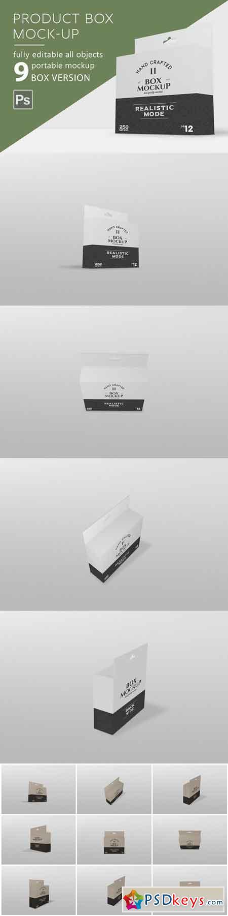 Branding Box Mockup 2944354