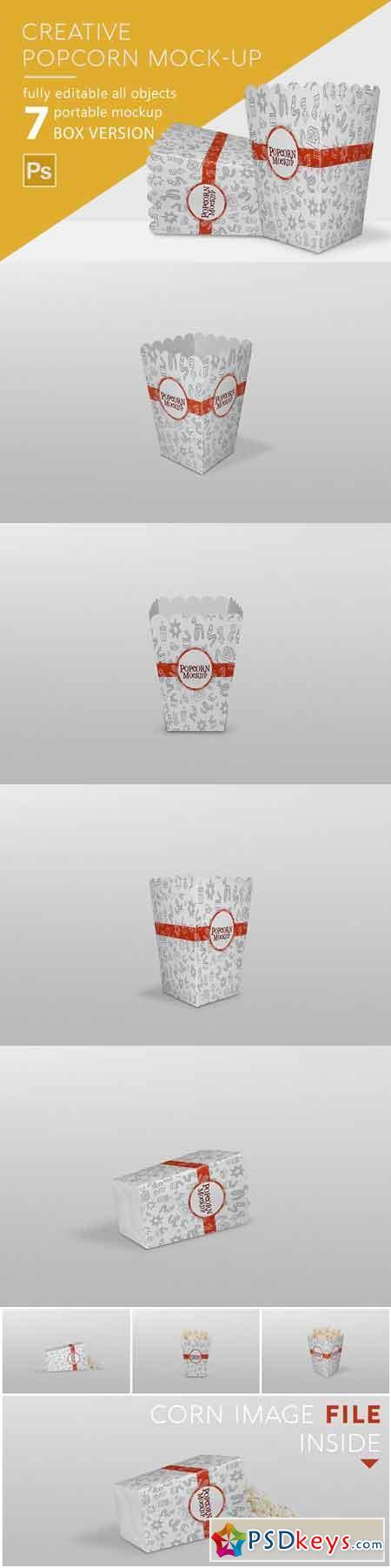 Popcorn Mockup 2881215