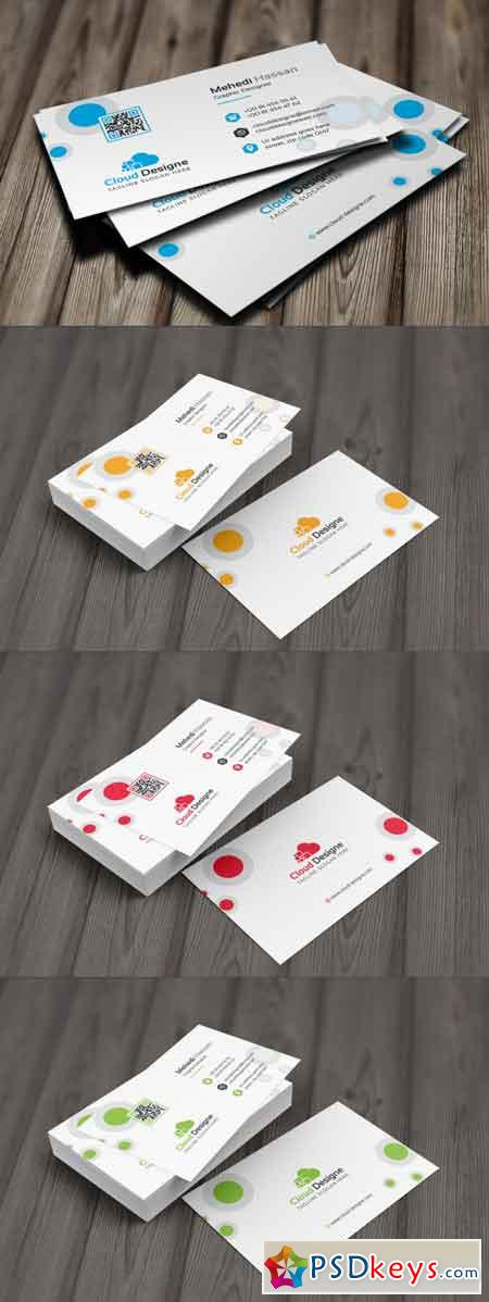 Corporate Business Card 3512921