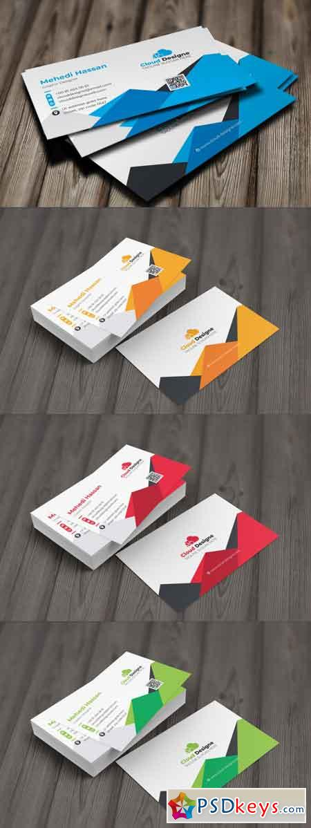 Corporate Business Card 3512841