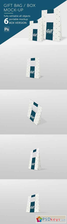 Gift Box Mockup 3161452