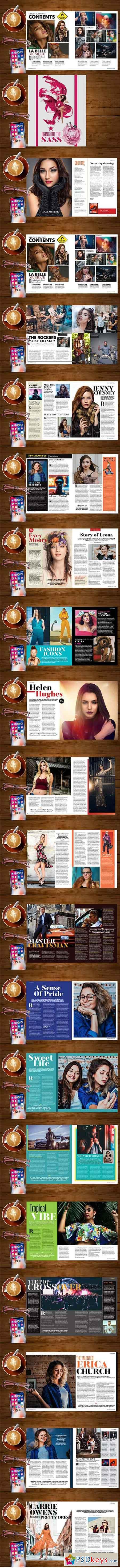 Magazine Template 3165770