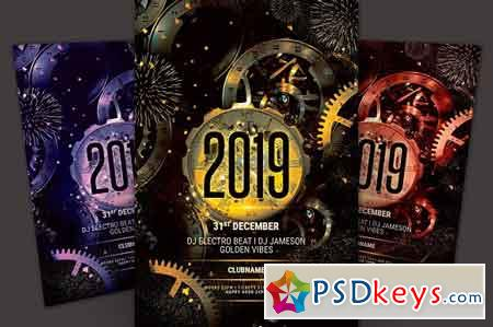 New Year Flyer 3251603