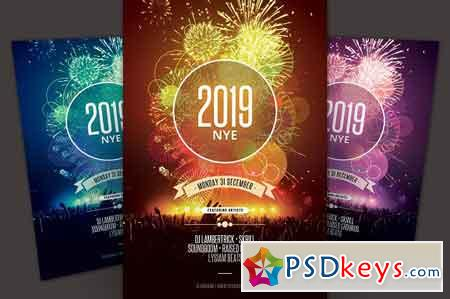 New Year Flyer 3236480