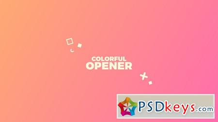 Colorful Opener 22120833 After Effects Template