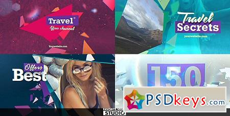 Travel Multifunction Broadcast Pack 20406345 After Effects Template