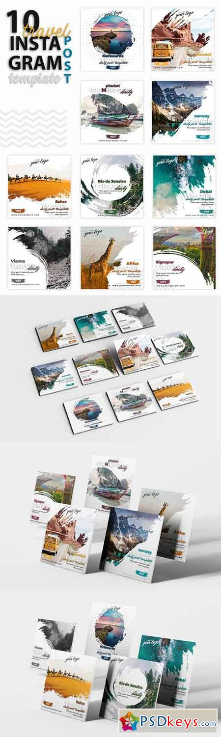 Instagram Post Template-Travel 3219450