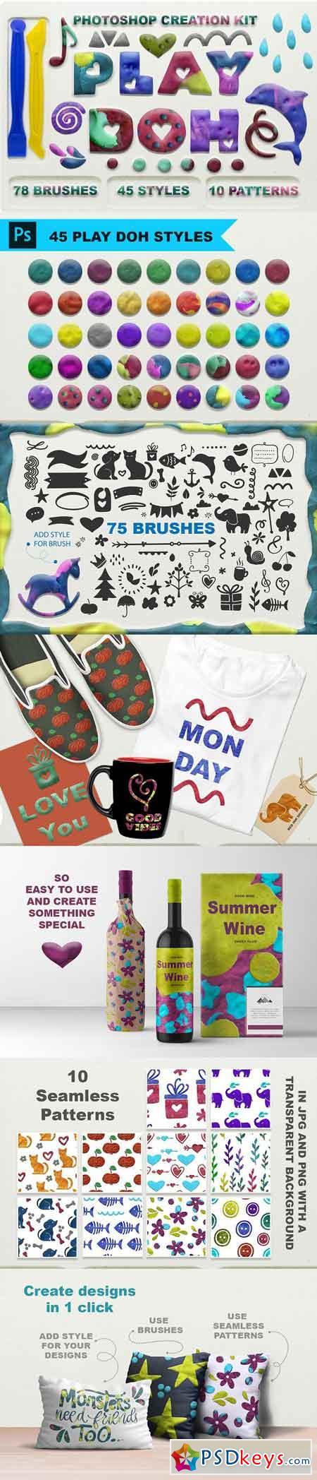 Play Doh Photoshop creation kit 3258463