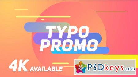 Videohive Short Typo Promo 22181812 After Effects Template