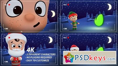 Santa Elf Christmas Animation 22954856 After Effects Template