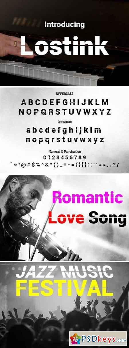Lostink Font