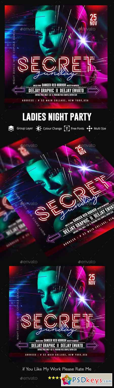 Nights Flyer Template 22881023