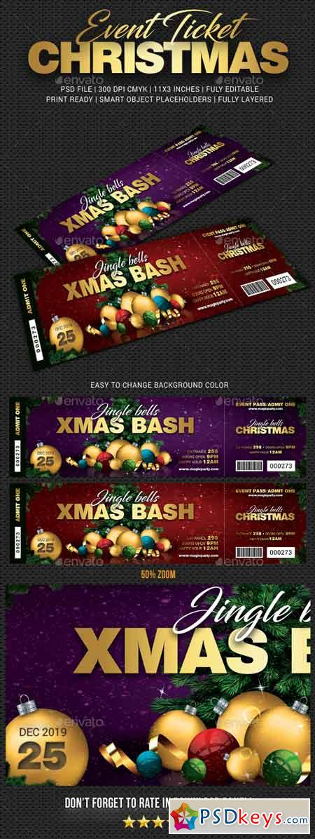 Xmas Bash Party Event Ticket 22968889