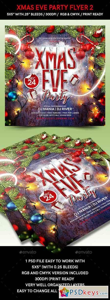 Xmas Eve Party Flyer 2 22990965