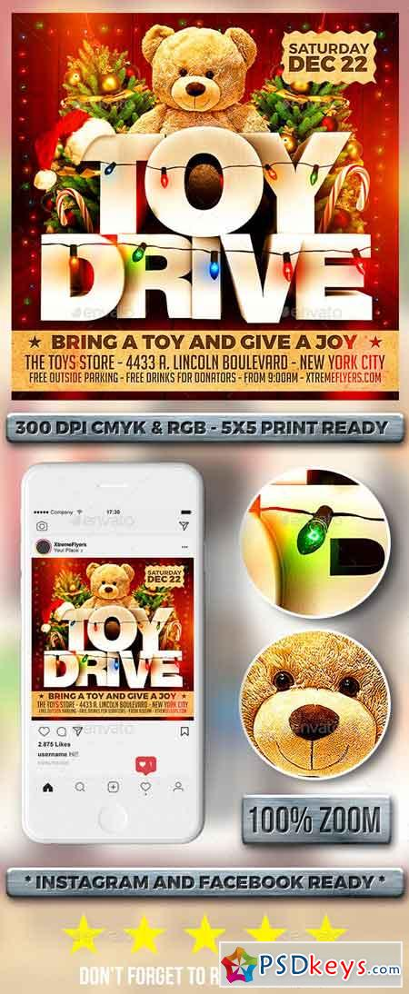 Toy Drive Flyer 22885632