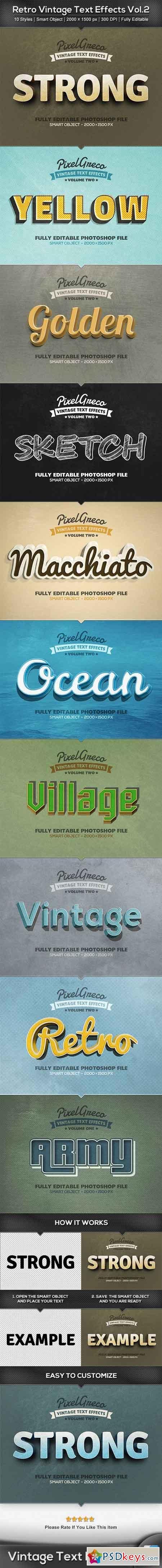 Retro Vintage Text Effects Vol2 22891278