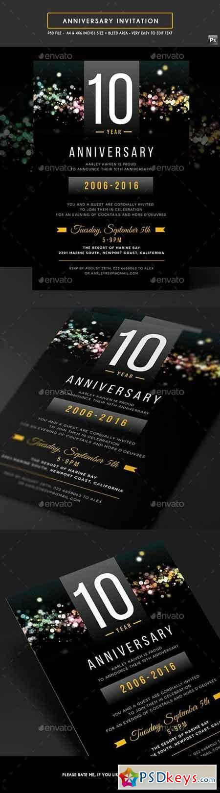 Anniversary Invitation 19134540
