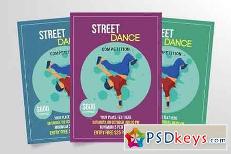 Street Dance Competition Flyer 3275778