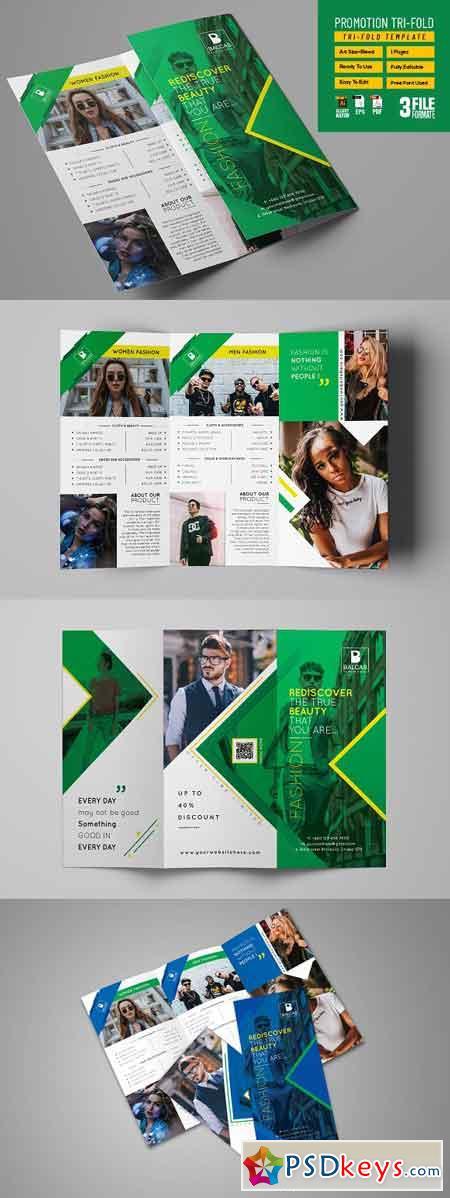 Shop Promotion Tri-fold 3209759