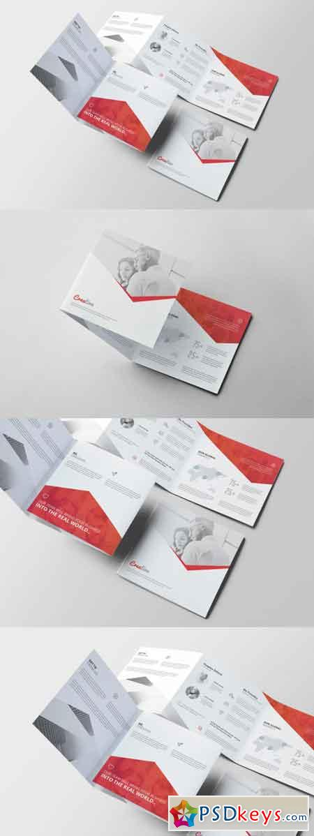 Corporate Square Trifold Brochure 3514140