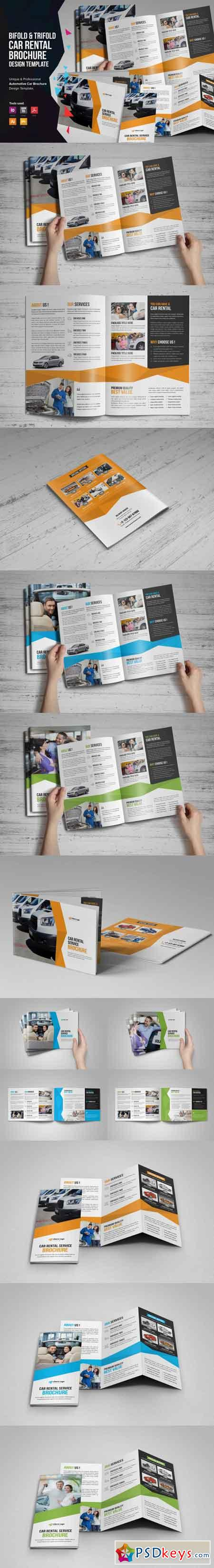 Auto Car Rental Service Brochure v1 3513911