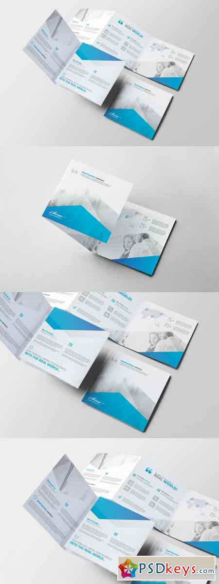Corporate Square Trifold Brochure 3514132