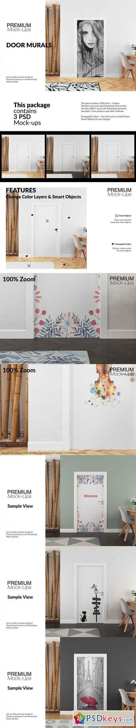 Door Murals Set 3513128