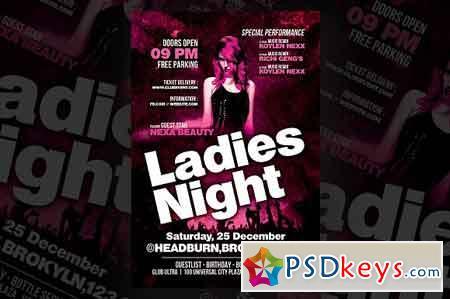 Ladies Party Flyer 3256569