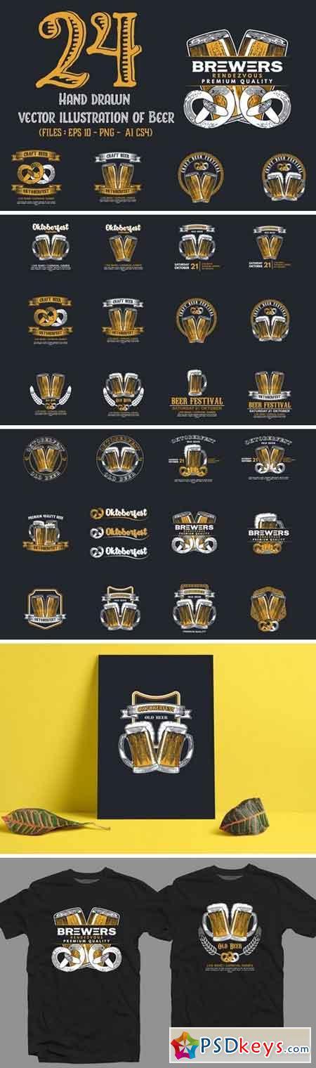Set of Beer Badges 506064