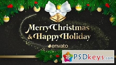 Videohive Christmas Greeting 22922031 After Effects Template